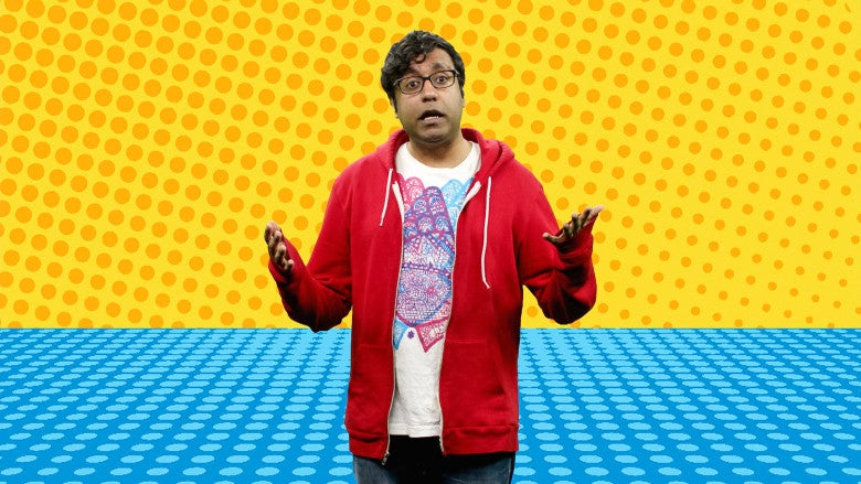 Hari Kondabolu in The Problem With Apu.